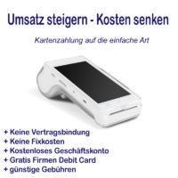 Kartenzahlung schnell & einfach